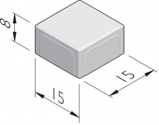 Naturale 15x15