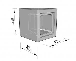 Vierhoekige nis 43