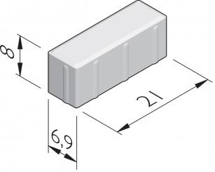 Naturale 21x6,9 dikformaat