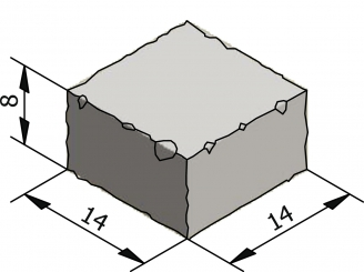 Rustico 14x14