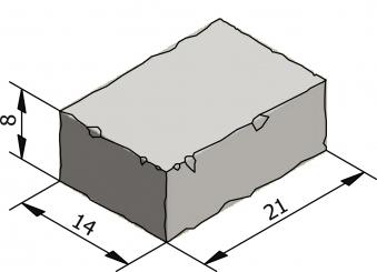 Rustico 21x14