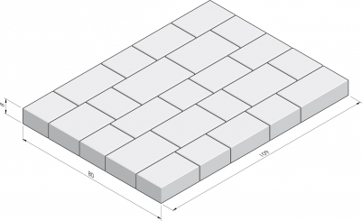 Basic 80x109 La Strada pakket