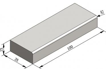 Basic traptreden 35x15