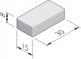 Fietspadstenen 30x15